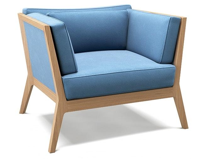 Blue Frank Armchair