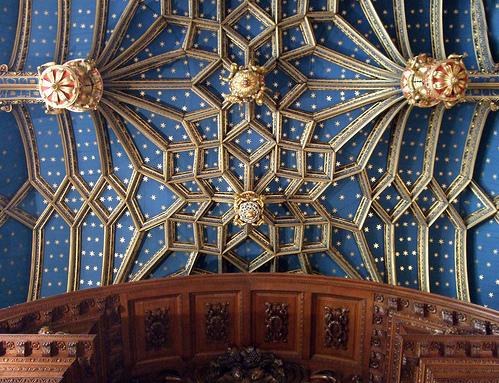 Grand ceiling Hampton Court