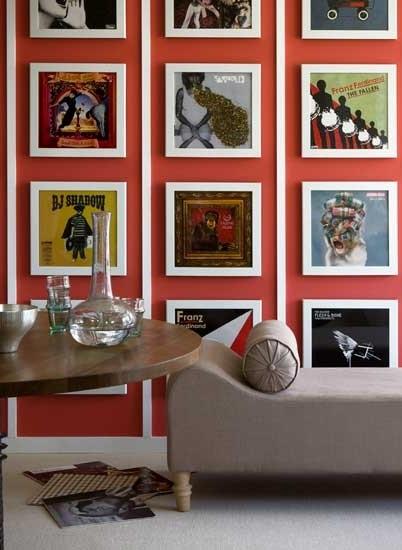 framed wall art display