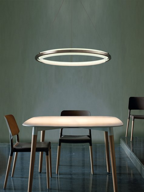 Nimba LED Suspension Light over dining table