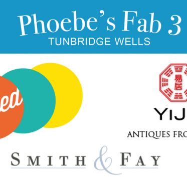 Phoebe's Fab 3: Tunbridge Wells