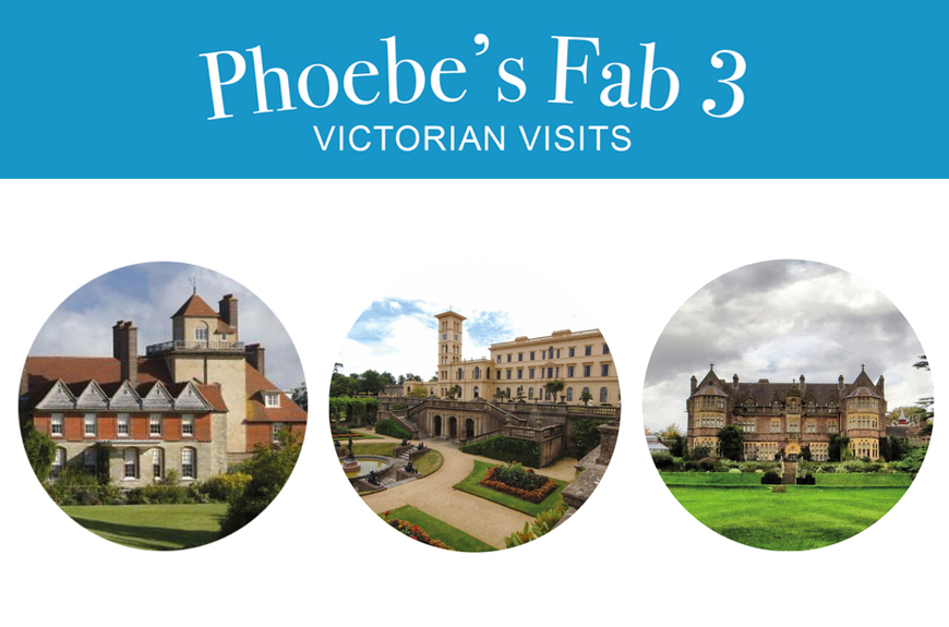 Phoebe's Fab 3: Victorian Visits