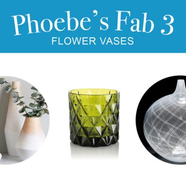 Phoebe's Fab 3: Flower Vases