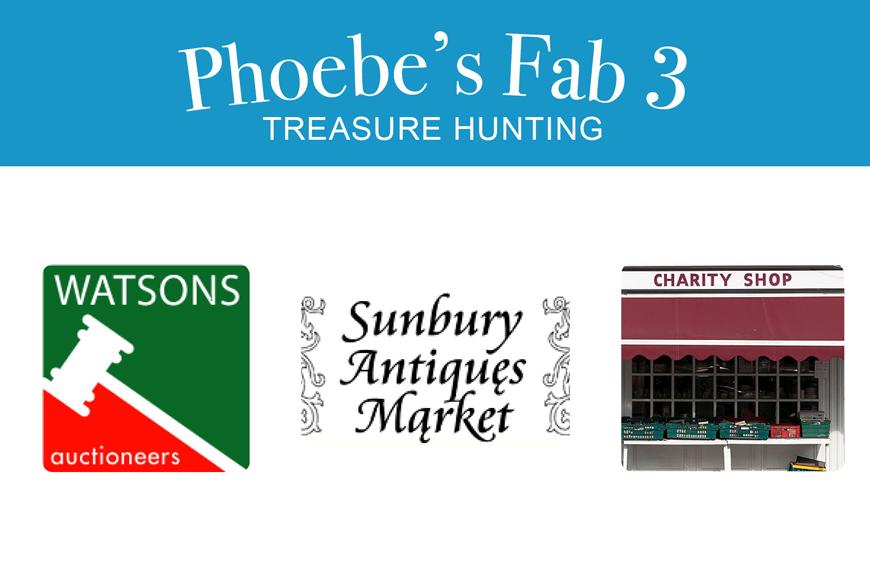 Phoebe's Fab 3: Treasure Hunting