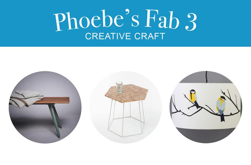 Phoebe's Fab 3: Creative Craft