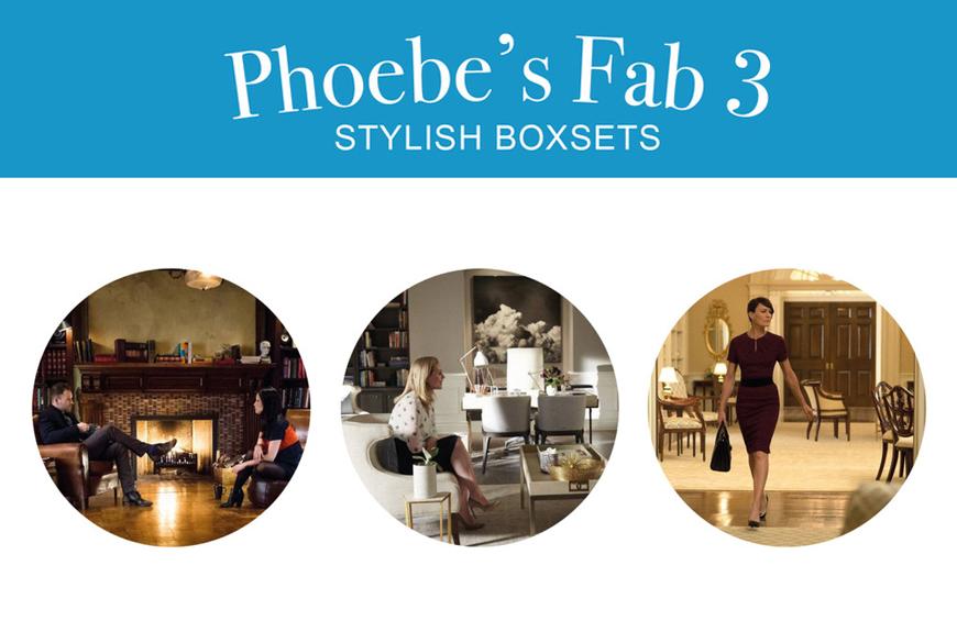 Phoebe's Fab 3: Stylish Boxsets