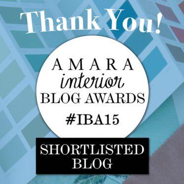 Amara Interior Blog Awards IBA15