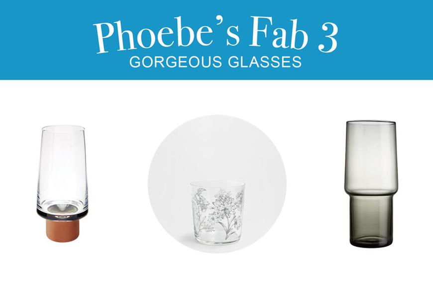 Phoebe's Fab 3: Gorgeous Glasses