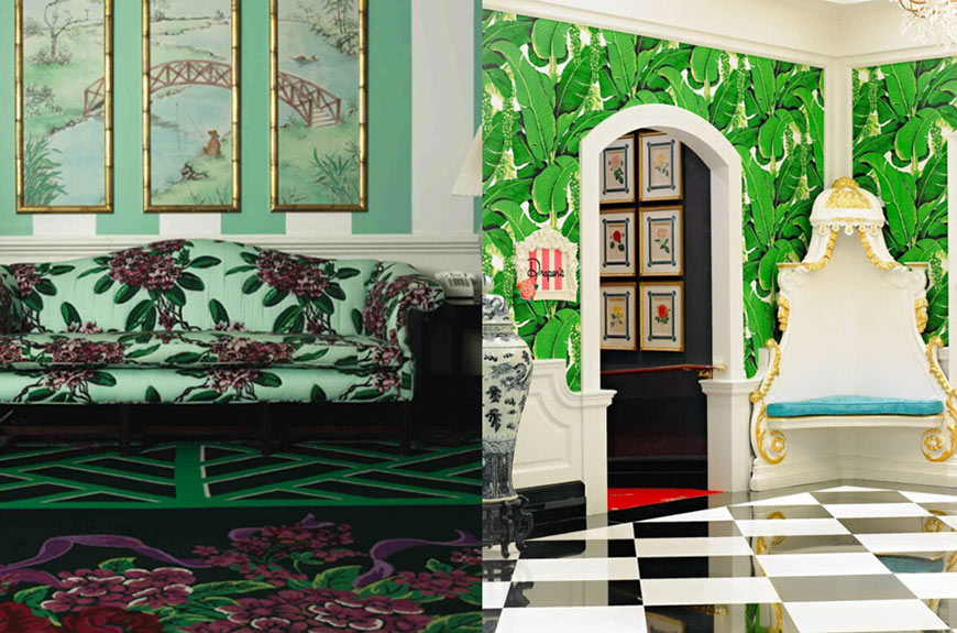 Inspired By Dorothy Draper Smartstyle Interiors