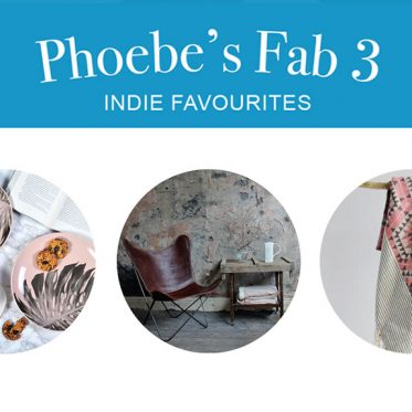 Phoebes fab 3 Indie Favourites
