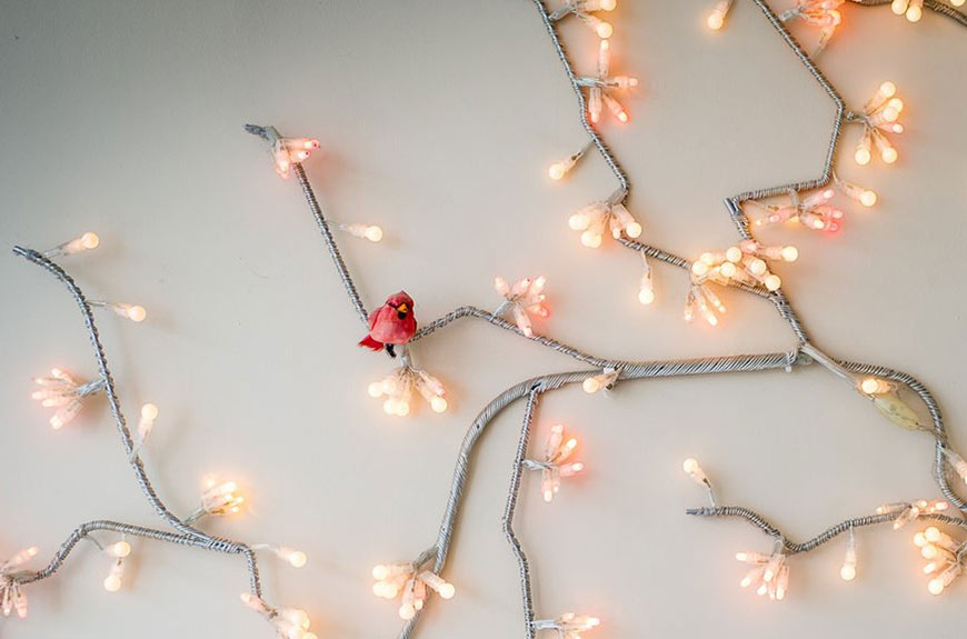 Wall Tree Light