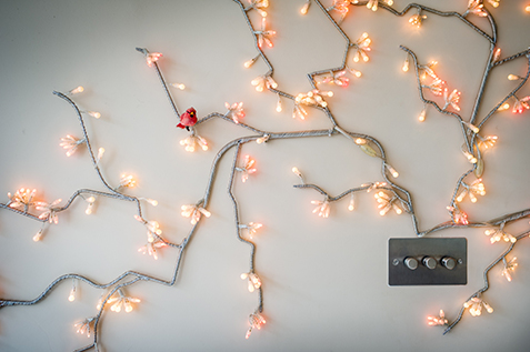 Tree Wall light