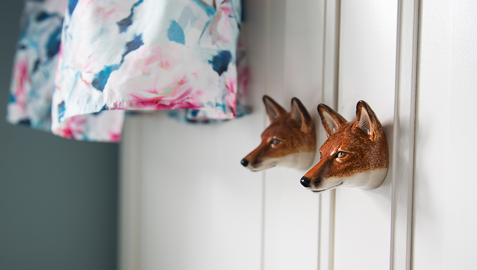 Fox head cupboard door handles