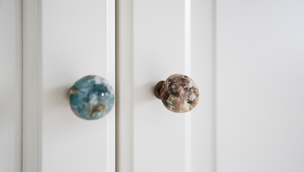 childrens room stone cupboard door handles