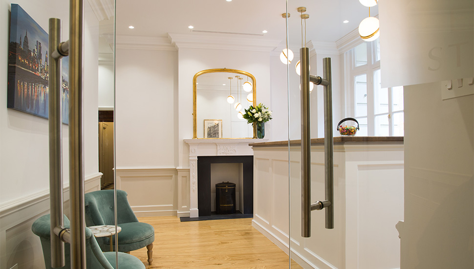 barristers chambers entrance reception