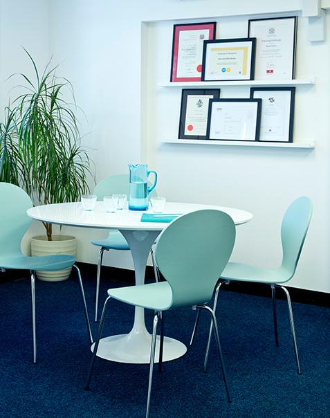 Tunbridge Wells Accountancy firm meeting area