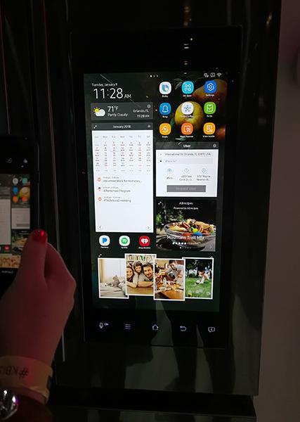 samsons family hub fridge