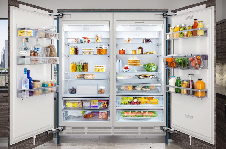 36inch column thermador fridge