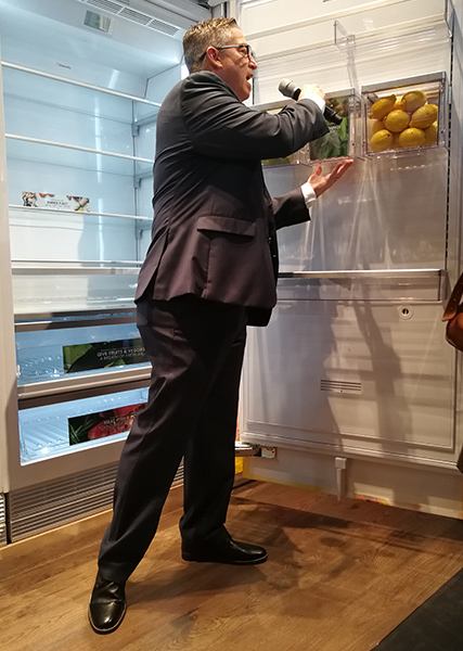 integrated fridge freezer by thermador