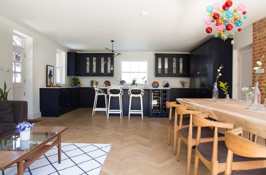 Designing The Perfect Family Kitchen Smartstyle Interiors - Family-kitchen-design
