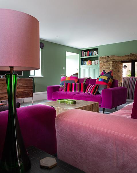 Sitting & TV room